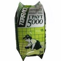 """Затирка для кафеля """"Terraco Grout 5000"""" 2кг коричневая купить в интернет-магазине Чайна-строй"""
