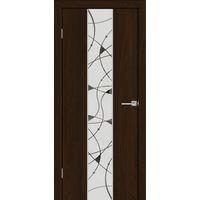 Дверное полотно LUXURY 317 Бренди 3D Браш ПО художественное зеркало -60*200см ЗСЗ купить в интернет-магазине Чайна-строй