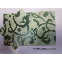 Компл. ковров Узоры Микрофиб. 80*50&40*50 зеленый BF MF 003/2 купить в интернет-магазине Чайна-строй