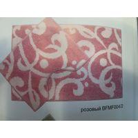 Компл. ковров Узоры Микрофиб. 80*50&40*50 розовый BF MF 004/2 купить в интернет-магазине Чайна-строй