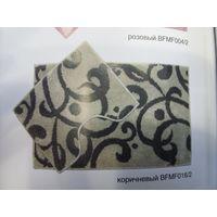 Компл. ковров Узоры Микрофиб. 80*50&40*50 коричневый BF MF 016/2 купить в интернет-магазине Чайна-строй