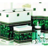 Корзина для белья П (ROME) зеленая 2390/5 купить в интернет-магазине Чайна-строй