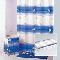 Корзина для белья П (SAND BEACH) бело- голубой 2390/1 купить в интернет-магазине Чайна-строй