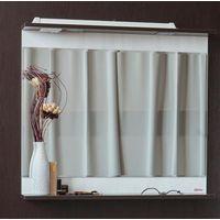 Зеркало Sanflor Толедо 60 с подсветкой 554*736 мм, венге/северное дерево светлое купить в интернет-магазине Чайна-строй