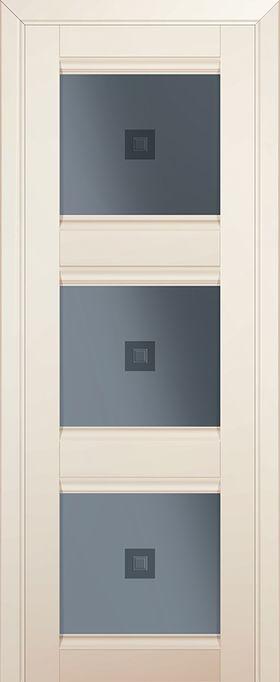 Дверь Магнолия сатинат  №4U 2000*700 стекло графит узор ЗСЗ купить в интернет-магазине Чайна-строй