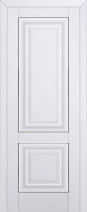 Дверь Аляска №27U 2000*600 серебро купить в интернет-магазине Чайна-строй