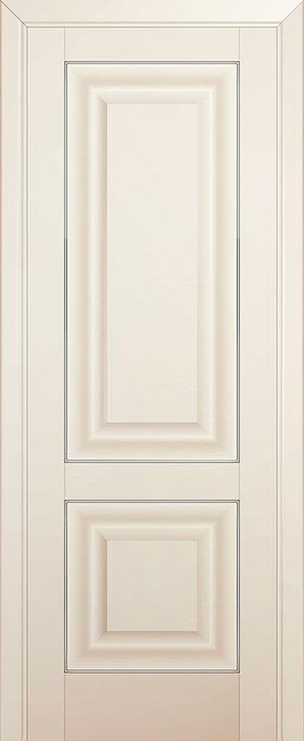 Дверь Магнолия сатинат №27U 2000*600 серебро ЗСЗ купить в интернет-магазине Чайна-строй