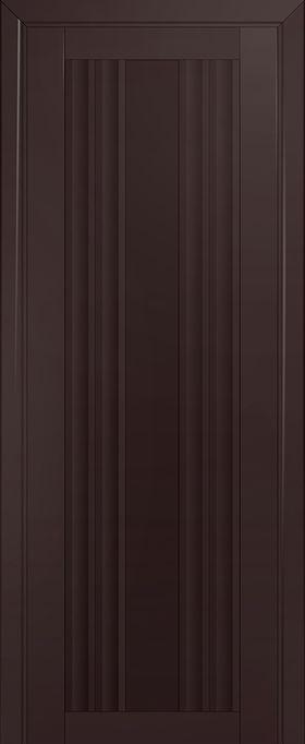 Дверь Тёмно-коричневый матовый №52U 2000*700 ЗСЗ купить в интернет-магазине Чайна-строй