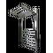 Полотенцесушитель Валенсия люкс П13 450*860 (4+4+5)  купить в интернет-магазине Чайна-строй
